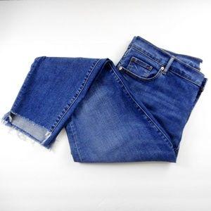 Ann Taylor Loft Jeans 32 14 Modern Skinny New